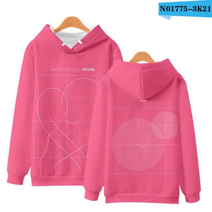 BTS Map Of The Soul Persona Cover Hoodie