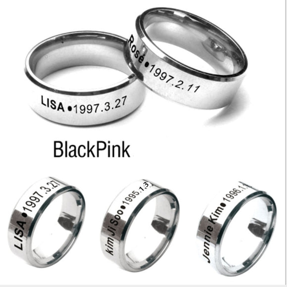 BlackPink BIAS Ring - Free WorldWide Shipping