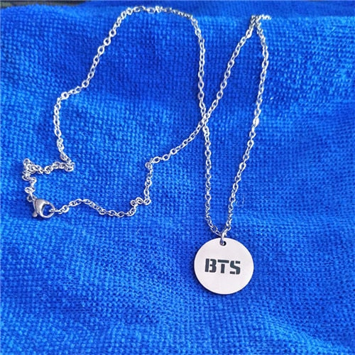 BTS Necklace - Free WorldWide Shipping