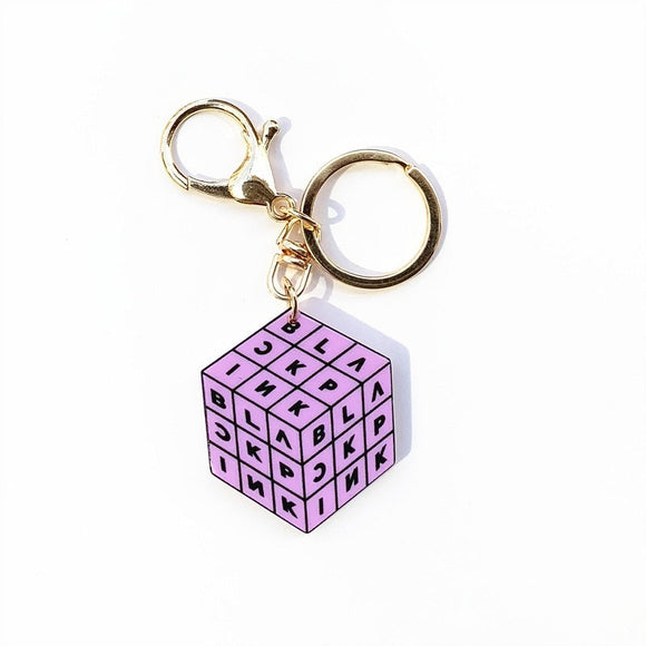 BlackPink Square Keychain - Free WorldWide Shipping
