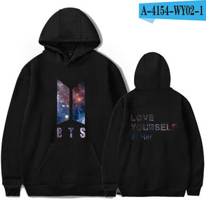 BTS Love Yourself Galaxy Hoodie - Free WorldWide Shipping