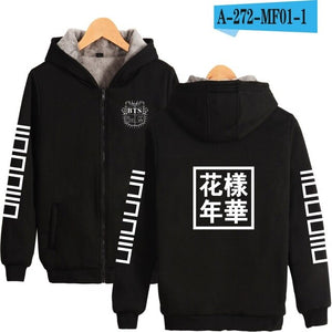 BTS Bulletproof Winter Jacket - Free WorldWide Shipping