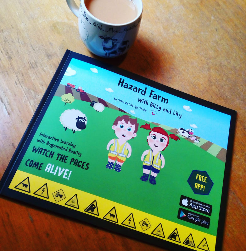 Hazard farm, book on hazards on the farm and farm safety