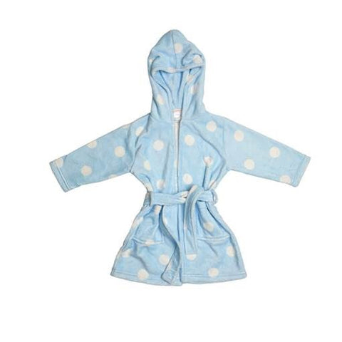 Huckleberry Lane Blue Spot Dressing Gown