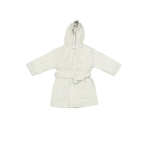 Snugglebum Grey Polka Dot Dressing Gown