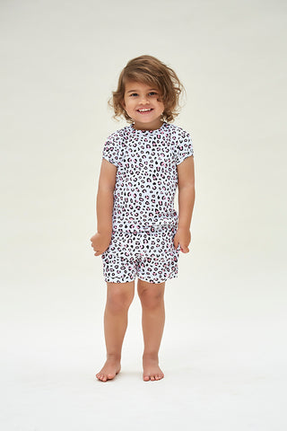 Huckleberry Lane Cheetah Print Pyjamas