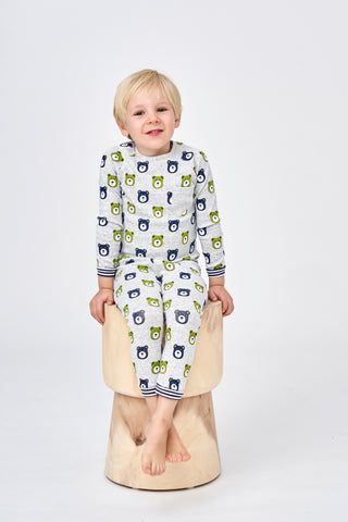 Huckleberry Lane Multi Bear Pyjamas