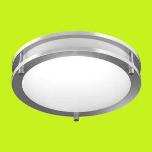 ceiling light fixture, green background