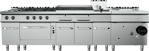 Culinary Full Cooking Station Range