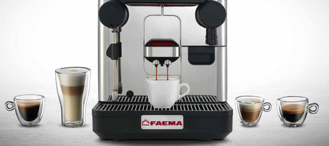 Faema Automatic Bean to cup machine