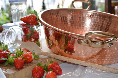 Mauviel Copper Jam Pan - Culinary Equipment Company