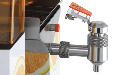 Automatic citrus juicer self service tap