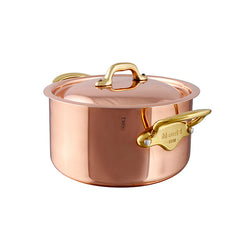 Copper: Stewpan with Lid - Culinary Equipment Company