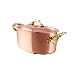 Copper: Oval Cocotte with Lid - Culinary Equipment Company