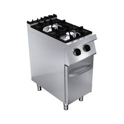 GAS STOVE: 2 BURNERS & CUPBOARD - Culinary Equipment Company