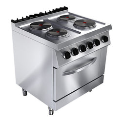 ELECTRICAL STOVE: 4 PLATES, ELEC. OVEN - Culinary Equipment Company