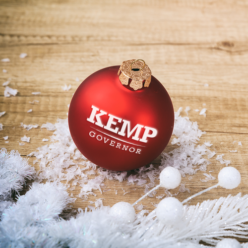 Kemp Christmas Ornament