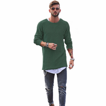 Load image into Gallery viewer, Basic Slim Long Sleeve Sweater