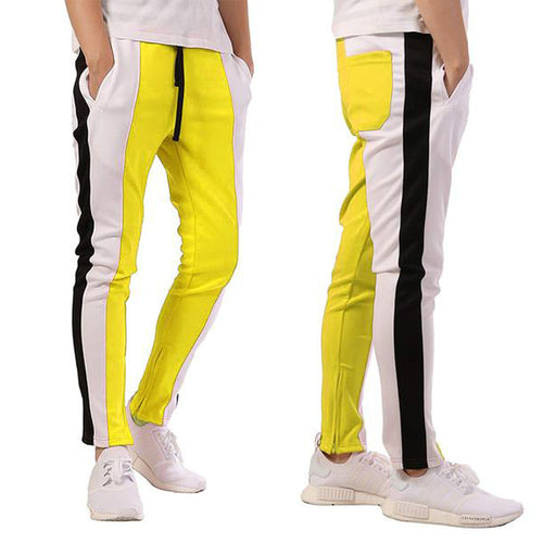 Men's Casual Sweatpants Color Matching Sports Pants