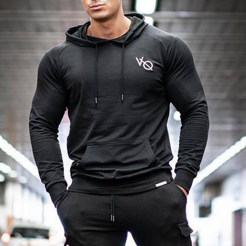 Muscle Dr. Brothers Sports Fitness Men Training Running Hoodies