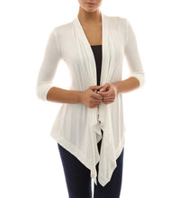 Load image into Gallery viewer, Long Sleeve Baita Pleated Cardigan