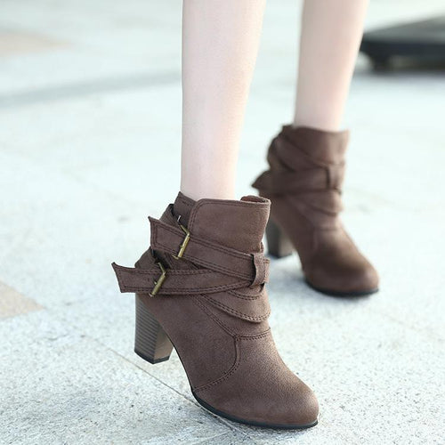 Thick And Short  Warm Cotton Boots