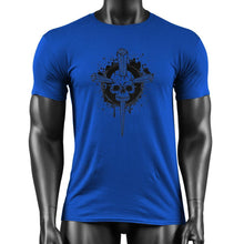 Load image into Gallery viewer, Cross Skull Cotton T-shirt