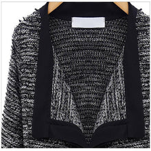 Load image into Gallery viewer, High Quality Linen Long Sleeve Knit Wool Cardigan
