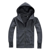 Load image into Gallery viewer, Mens High Collar Hoodie