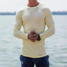 Load image into Gallery viewer, Fashion Youth Plain Round Neck Long Sleeve Sport Top