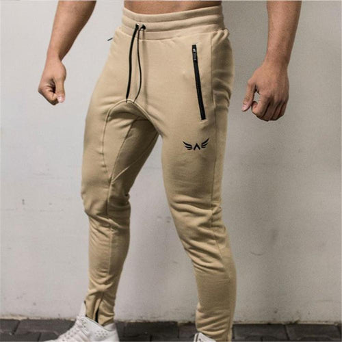 Fashion Youth Soft Plain Sport Long Pants