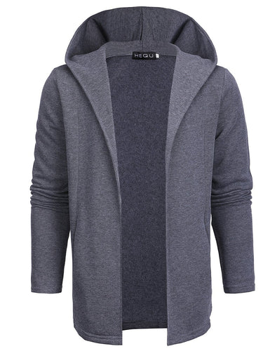 Men's Plain Casual Outerwear Cardigan