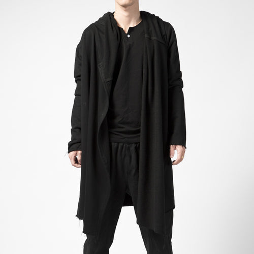 Dark Cape Loose Hooded Outerwear