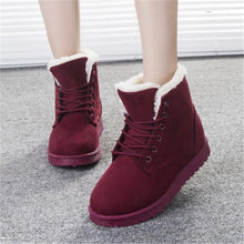 Load image into Gallery viewer, Warm Snow Boots Martin Boots With Cotton Women's Shoes