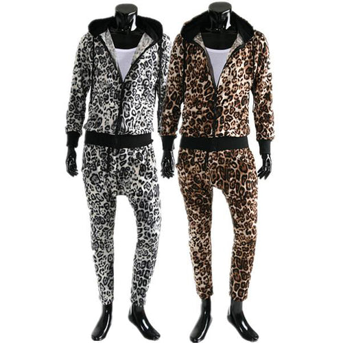 Casual Leopard Tracksuit