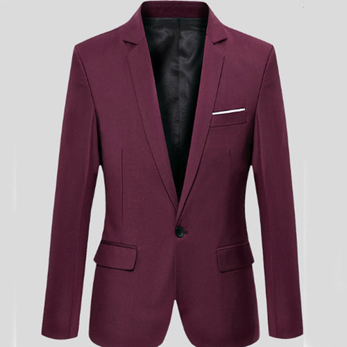 Slim Fit A Button Coat Small Suit