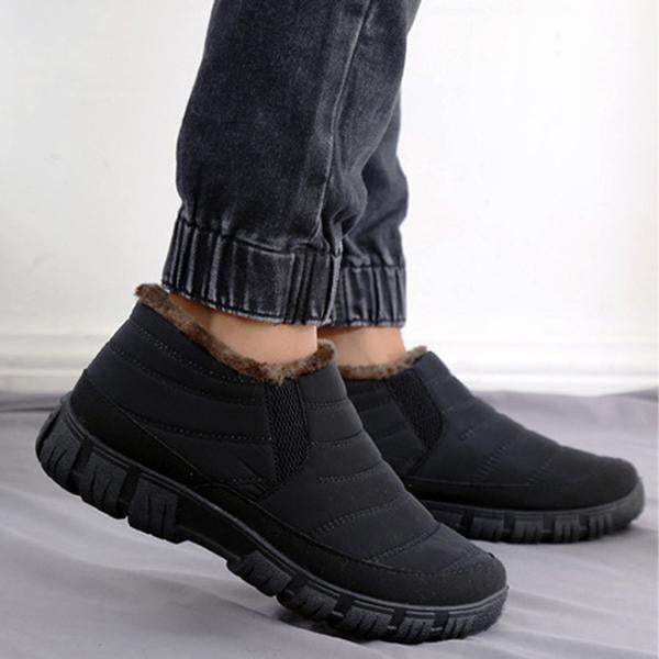 Winter Cotton Boots Waterproof Warm Shoes
