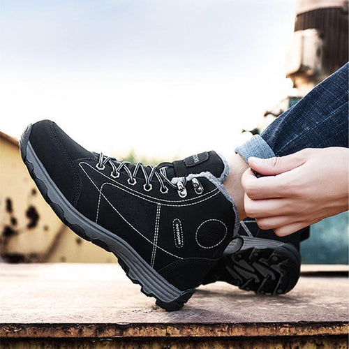 Hiking Outdoor Sports Plus Velvet Warm Snow Boots