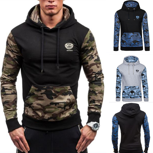 Camouflage Casual Sports Hoodie