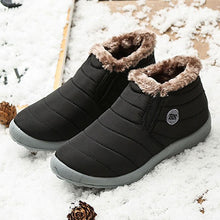 Load image into Gallery viewer, Casual Winter Waterproof Plain Boots