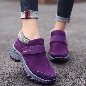 Comfortable Gym Sport Shoes Velvet Snow Sneakers