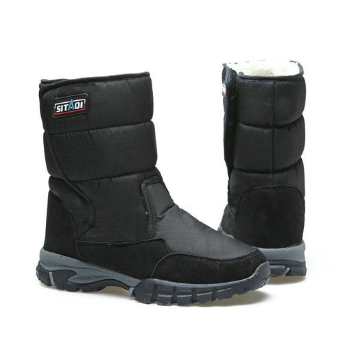 Anti-Slip Waterproof Cotton Boots Snow Boots