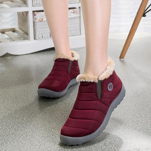 Casual Winter Waterproof Plain Boots