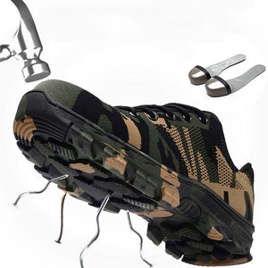Anti-Smashing Puncture-Proof Insulated Safety Shoes