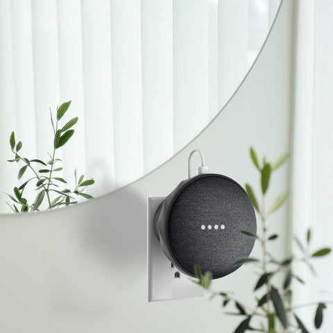 google home mini wall mount Dark grey