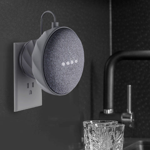 Dark Grey google home mini wall mount