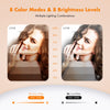 W1 - Webcam Cover 6 Packs (2 White+4 Black)