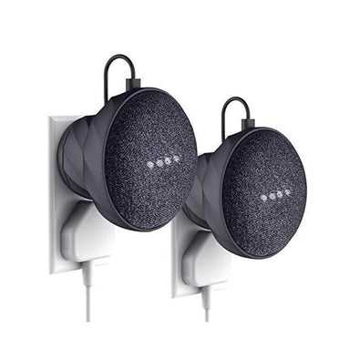 G2 - Wall Mount for Google Home Mini 2 Packs (Carbon)
