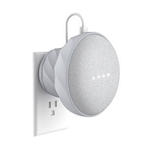 G2 - (UK/AU version) Wall Mount for Google Home Mini (Light Grey)