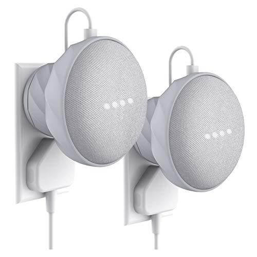 G2 - Wall Mount for Google Home Mini 2 Packs (Light Grey)